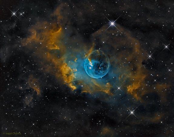 Туманность Пузырь фото
