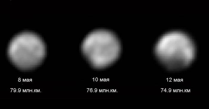 Космический аппарат New Horizons все ближе к Плутону
