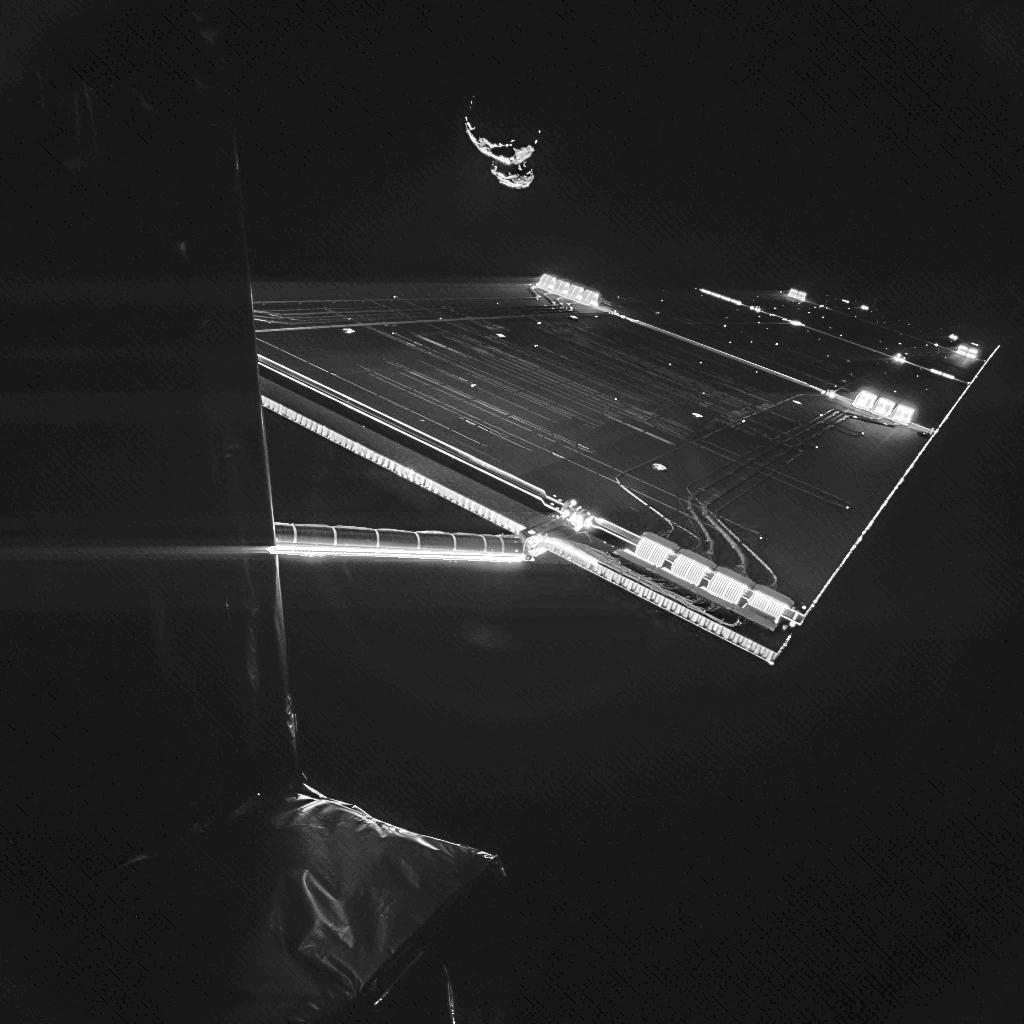 Деятельность космического аппарата Розетта продлена до 2016 года