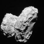 Комета 67P/Чурюмова-Герасименко состоит из двух столкнувшихся комет
