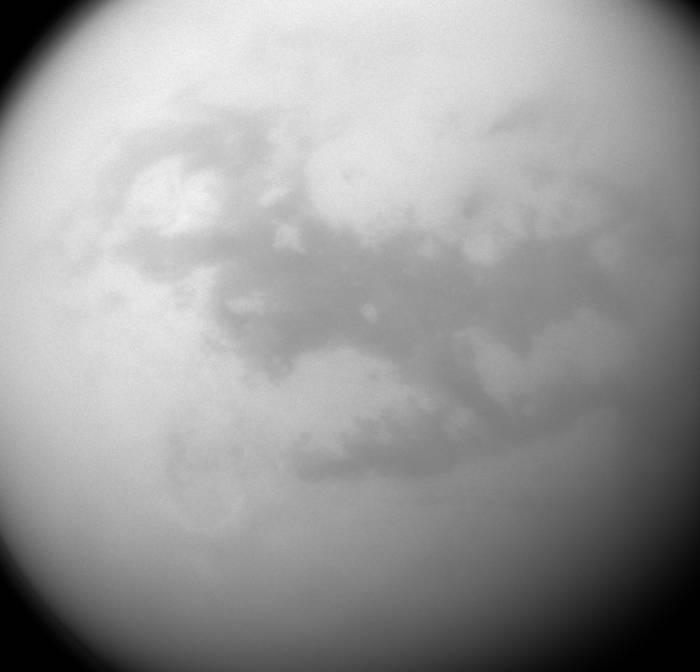 Фотография дюн на Титане