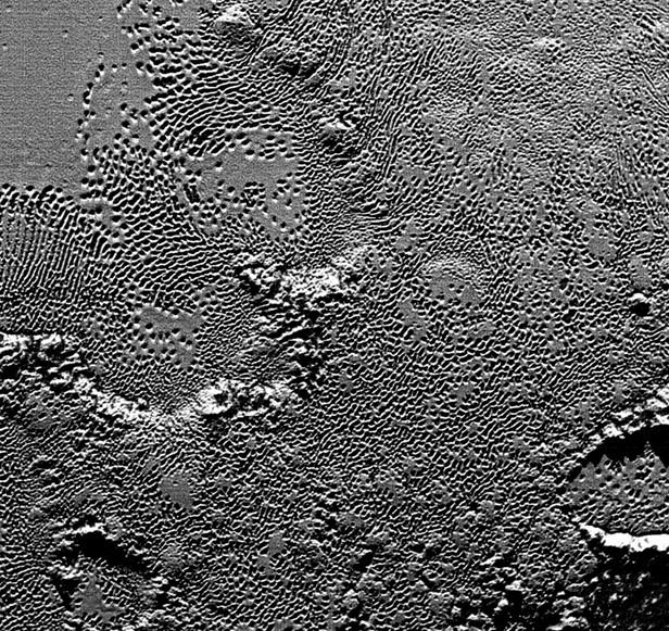 Фотография поверхности Плутона