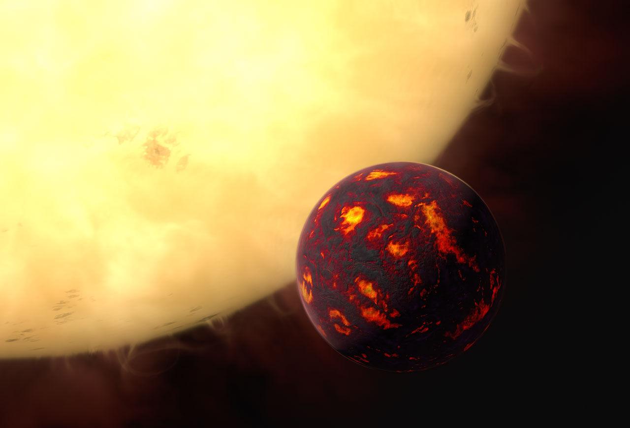 Астрономы обнаружили атмосферу вокруг ближайшей суперземли