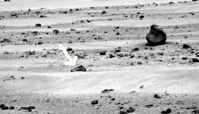 Очередная находка на поверхности Марса -  Марсианский пистолет