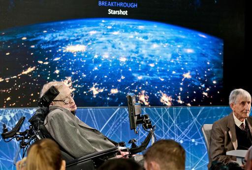 Стивен Хоккинг решает присоединиться с футуристическому проекту по освоению дальнего космоса