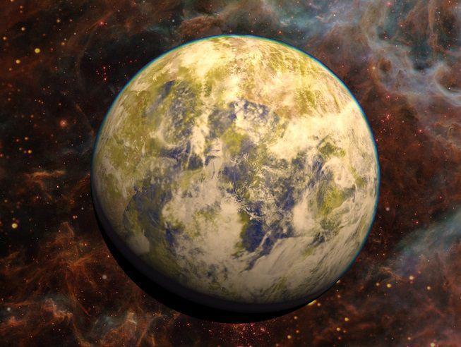 Планета подобная Земле может находится в ближайшей звездной системе