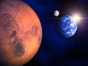 Марс приблизился к Земле на рекордное расстояние