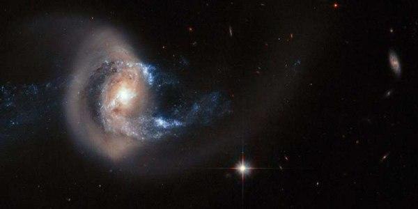 «Незначительные» слияния оказались более значимыми для формирования звезд