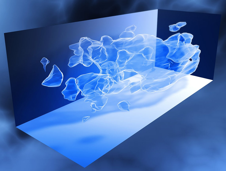 Неподвижность и движение темной материи